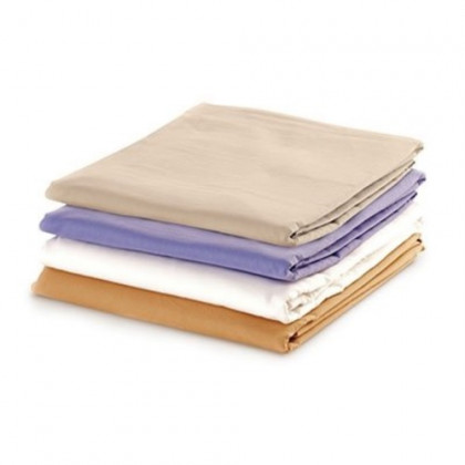 Massage Sheet Set - Includes: Fitted, Flat And Cradle Sheets - Cotton Flannel - Tan - 15-3753CFT