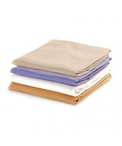 Massage Sheet Set - Includes: Fitted, Flat And Cradle Sheets - Cotton Flannel - White - 15-3753CFW