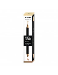 NYX PROFESSIONAL MAKEUP Micro-Contour Duo Pencil, Light, 0.1 Ounce