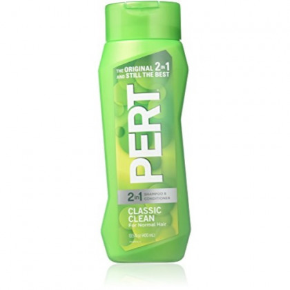 Pert Plus 2-in-1 Shampoo Plus Conditioner, Normal Hair 13.50 oz (Pack of 2)