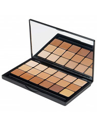 Graftobian HD Glamour Creme Foundation Warm Super Palette - 18 High Definition Warm Undertone Cream Shades