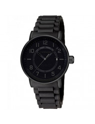 Wenger Men's Attitude Outdoor Stainless Steel Swiss-Quartz Watch with Silicone Strap, Black, 21 (Model: 01.0341.112)
