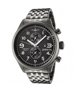 Invicta Men's 0368 II Collection Gunmetal Ion-Plated Stainless Steel Date Watch