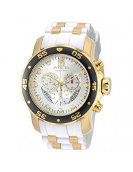 Invicta Men's Pro Diver Stainless Steel Quartz Watch with Silicone Strap, Two Tone, 1 (Model: 20292)