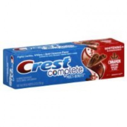 Crest Complete Toothpaste Cinnamon Whitening (2 Pack)