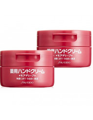 Two Shiseido Medicated hand cream More Deep 100g ¡ÁAF27