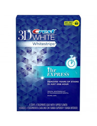 Crest 1-Hr Express Whitestrips Dental Whitening Kit - 4 Ct