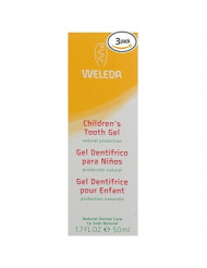 Weleda Childrens Tooth Gel, 1.7-Ounce (3)