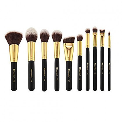 BH Cosmetics Sculpt and Blend 2 Brush Set, 10 Count