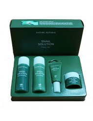 Nature Republic Snail Solution Trial Kit (4 items) Basic Skin Care Travel Kit