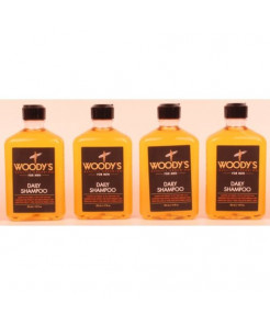 Woody's - Daily Shampoo 12oz Lot of 4