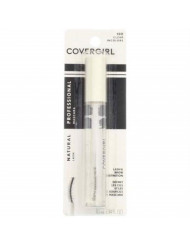 CoverGirl Professional Natural Lash Mascara, Clear [100] 0.34 oz (Pack of 4)