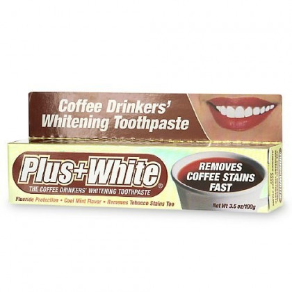 Plus White Coffee Drinkers' Whitening Toothpaste 3.50 oz (Pack of 4)