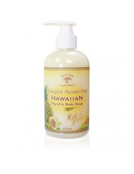 Island Soap & Candle Works Hawaiian Hand and Body Soap, Pineapple Passion Fruit