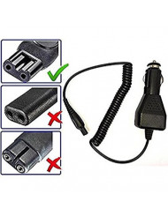 Car Cord Adapter Charger for Philips Noreco and Philips Shavers