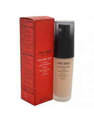 Shiseido Synchro Skin Lasting Liquid Women's SPF 20 Foundation, No. 2 Neutral, 1 Ounce