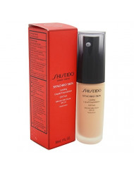 Shiseido Synchro Skin Lasting Liquid Women's SPF 20 Foundation, No. 3 Golden, 1 Ounce