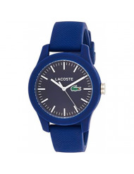 Lacoste Women's 'Ladies 12.12' Quartz Resin and Silicone Watch, Color:Blue (Model: 2000955)