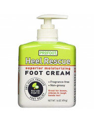 ProFoot Heel Rescue Superior Moisturizing Foot Cream 16 oz (Pack of 4)