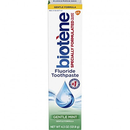 Biotene Toothpaste, Gentle Mint, 4.3 Ounce