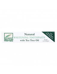 Tea Tree Therapy Natural Whitening Toothpaste, 3 Ounce (2-Pack)