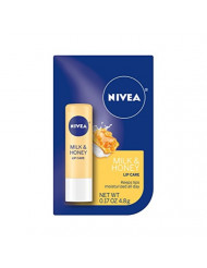 NIVEA Kiss of Milk and Honey Soothing Lip Care,0.17 Ounce (Pack of 6)