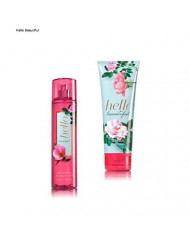 Bath & Body Works ~ Signature Collection ~ Hello Beautiful~ Gift Set~ Fine Fragrance Mist & Ultra Shea Body Cream