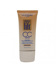 L'Oreal Paris Visible Lift CC Cream, Medium/Deep 1 oz (Pack of 3)