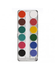 AQUACOLOR PALETTE 12 COLORS 1104