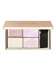 Sleek MakeUP - Highly Pigmented Metallic Face and Body Highlighter Palette for all Skin Tones - Solstice