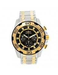 Invicta Men's Pro Diver Quartz Watch with Two-Tone-Stainless-Steel Strap, 26 (Model: 22322)