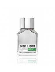 United Colors of Benetton United Dreams Eau de Toilette Spray for Men, Aim High, 3.4 Ounce