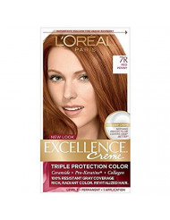 L'Oreal Paris Excellence Creme Triple Protection Color 7R Red Penny 1ea ( Packs of 2)