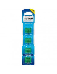 Listerine Ultraclean Access Flossers Disposable Heads Fresh Mint Crystals 28 Each (Pack of 12)