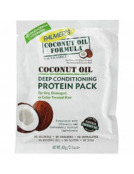 Palmers Coconut Oil Protein Pack Conditioner 2.1 Ounce (12 Pieces) (62ml)