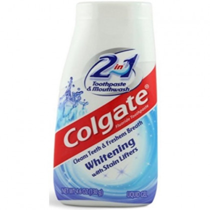 Colgate 2-in-1 Whitening With Stain Lifters Toothpaste 4.60 oz (Pack of 10)