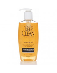 Neutrogena Deep Clean Facial Cleanser, Normal to Oily Skin 6.70 oz (Pack of 4)
