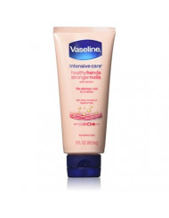 Vaseline Intensive Care Hand Lotion, Healthy Hands Stronger Nails, 3 Ounce (Pack of 4)