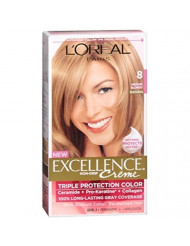 Exc H/C Med Bld #8 R Size 1ct L'Oreal Excellence Creme Hair Color Medium Blonde #8
