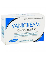 Vanicream Cleansing Bar for Sensitive Skin 3.90 oz (Pack of 10)