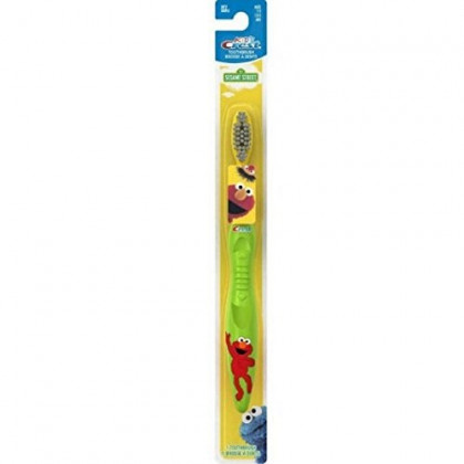 Crest Toothbrush Kid's Soft Sesame Street 1 Each (Pack of 4)
