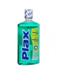 Plax Soft Mint Before Brush Mouthwash, 24 Ounces (Pack of 2)