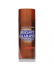 Right Guard Sport Deodorant, Aerosol, Original 8.5 oz (Pack of 5)