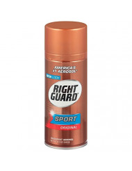 Right Guard Sport Deodorant, Aerosol, Original 8.5 oz (Pack of 7)