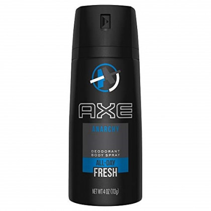 AXE Daily Fragrance Anarchy 4 oz (Pack of 8)
