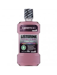 Listerine Total Care 1l Size 33.8z Listerine Total Care Anticavity Mouthwash Fresh Mint 1 Liter