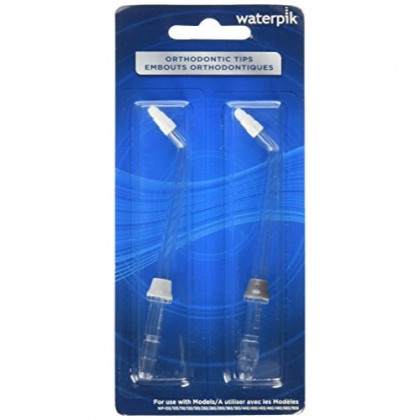 Waterpik Orthodontic Tips Pro OD-100E 2 Colored Tips per Package (Pack of 4)