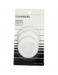 CoverGirl Make-Up Masters Powder Puffs, 3 ea (Pack of 10)