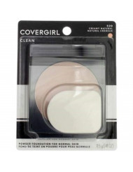 CoverGirl Simply Powder Foundation, Creamy Natural [520] 0.41 oz (Pack of 4)