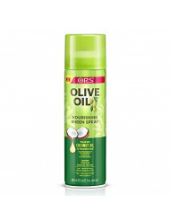 ORS Olive Oil Nourishing Sheen Spray infused with Coconut Oil 11.7 oz (Pack of 4)